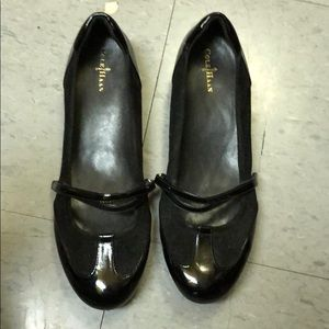 Cole Haan Shoes - Cole Haan black patent leather sneaker Mary Janes